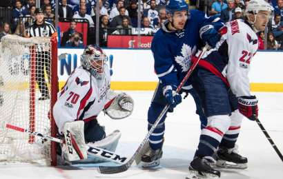 Série je vyrovnaná, Leafs ztratili zápas číslo 4