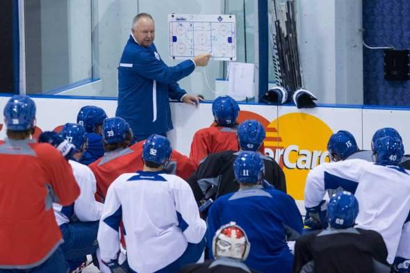 Leafs training camp 2013