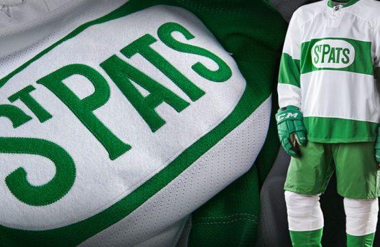 Leafs nastoupí v dresech St. Pats