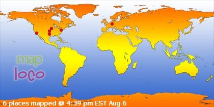 Bản đồ của website LêThắm có thể click vào đây để xem những nơi đã xem trang này