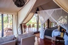 The amazing tent at Rhino Sands
