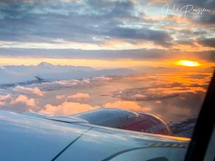 Tromso region from the skies