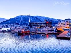Tromso at dusk