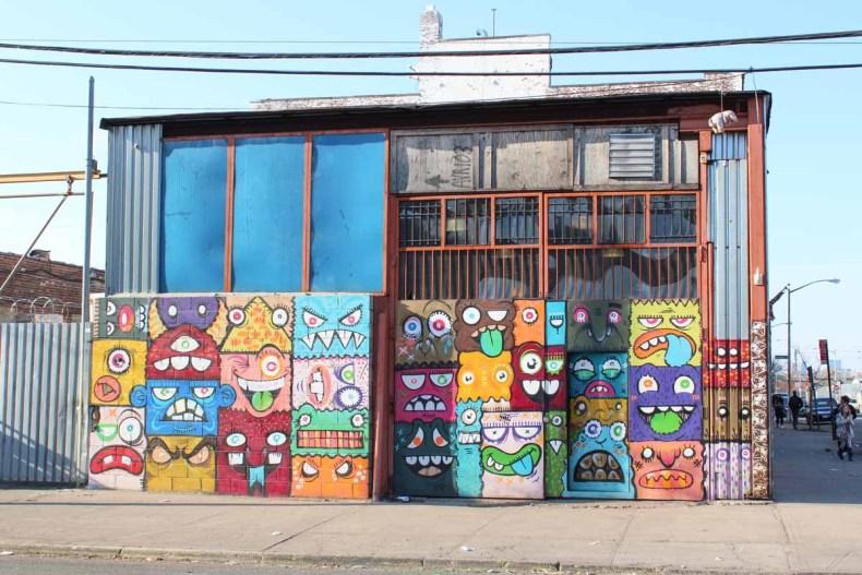 Bushwick, Manhattan, favoriete buurt New York - Map of Joy
