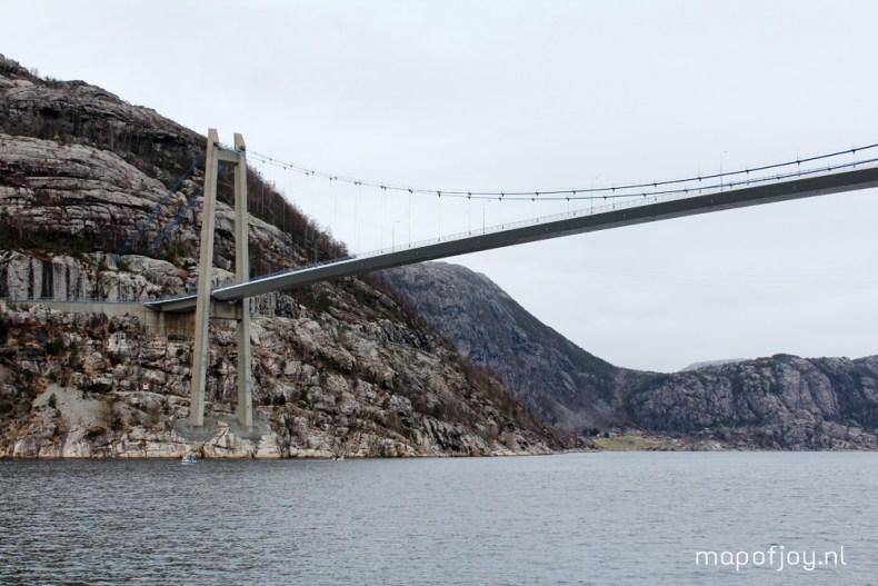 Rodne Fjord Cruise, Stavanger, Norway travel report - Map of Joy
