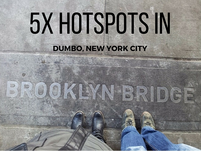 5 hotspots in DUMBO, New York - Map of Joy
