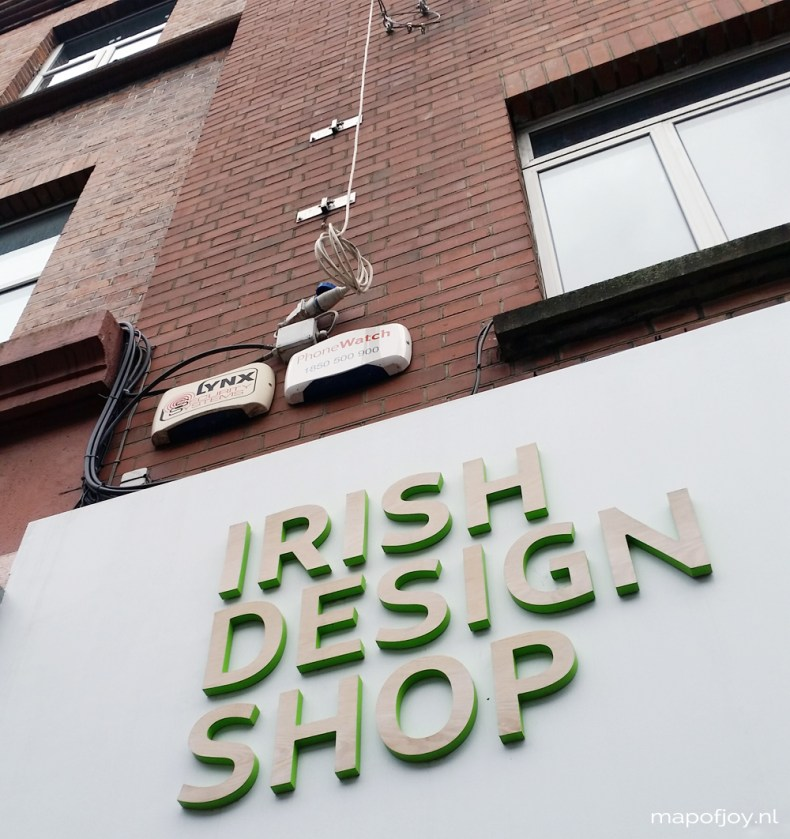 Irish Design Shop, hotspot, Dublin - Map of Joy
