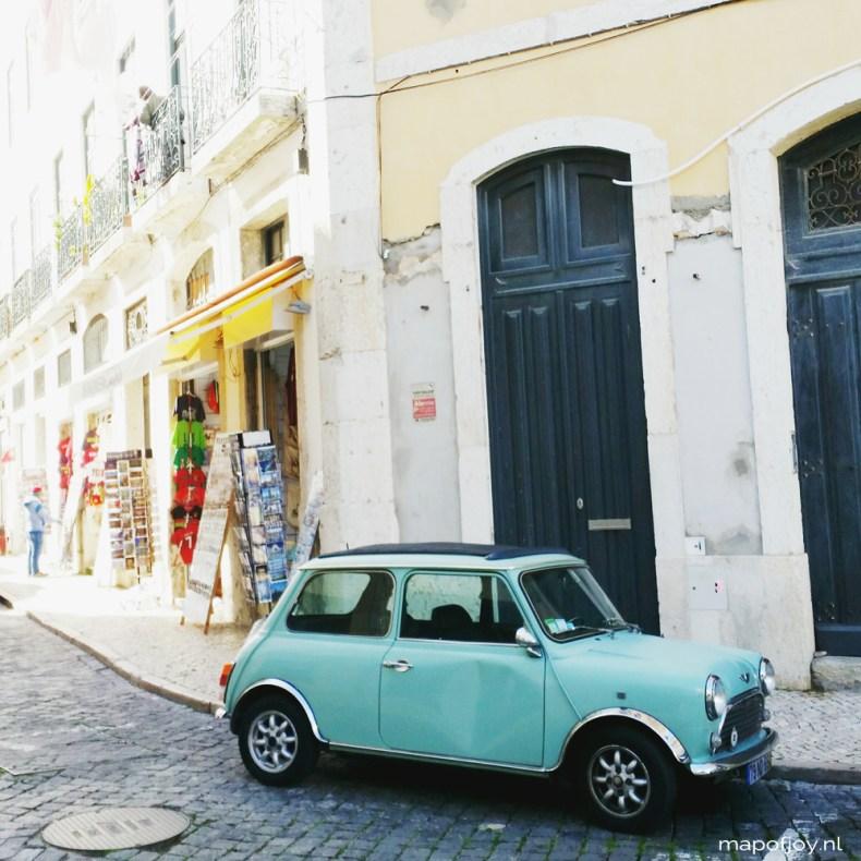 Lisbon, mini car - Map of Joy
