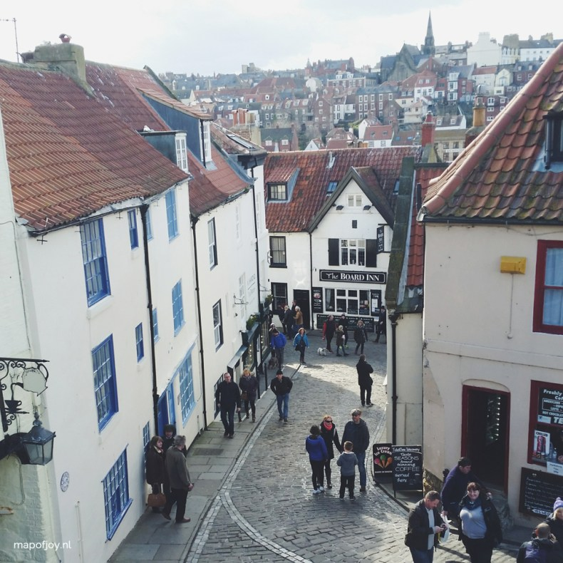 Whitby, England - Map of Joy