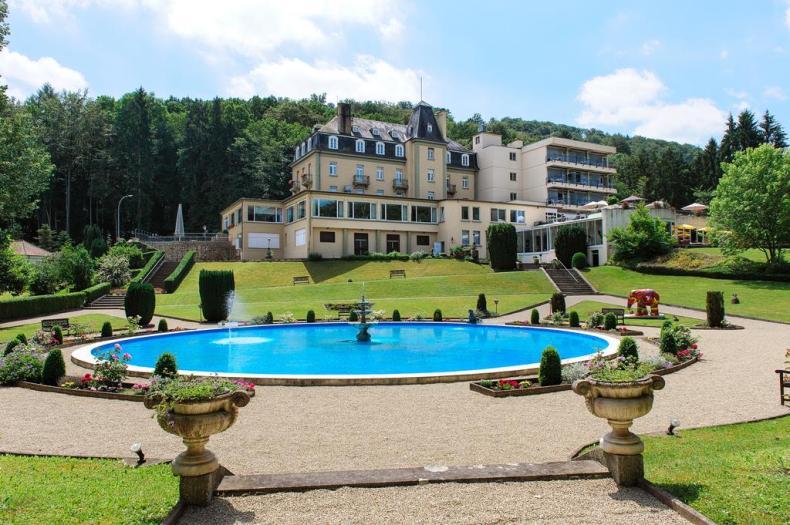 leuk hotel Mullertal, Luxemburg