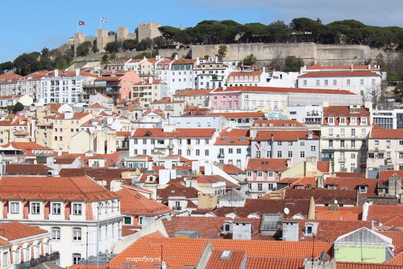 Hotel do Chiado, Entretanto rooftop bar, Lisbon - Map of Joy