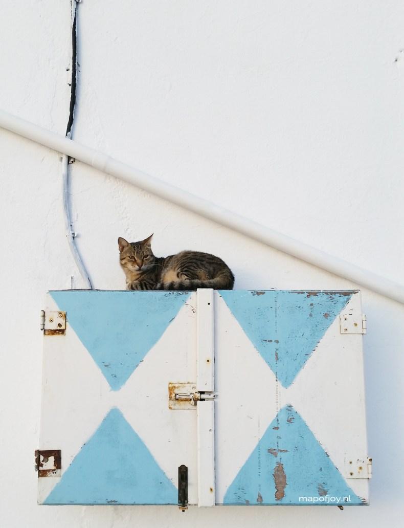 Pyrgos, Santorini, Greece - Map of Joy
