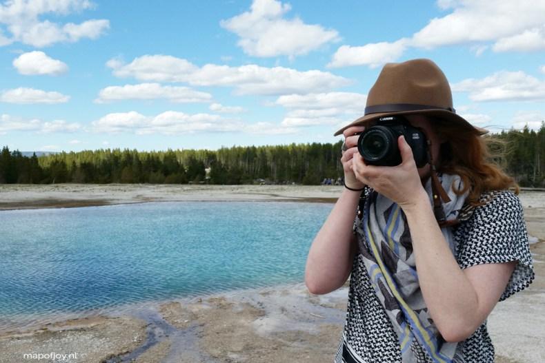 Grand Pricmatic Spring, Yellowstone, USA - travel report on Map of Joy