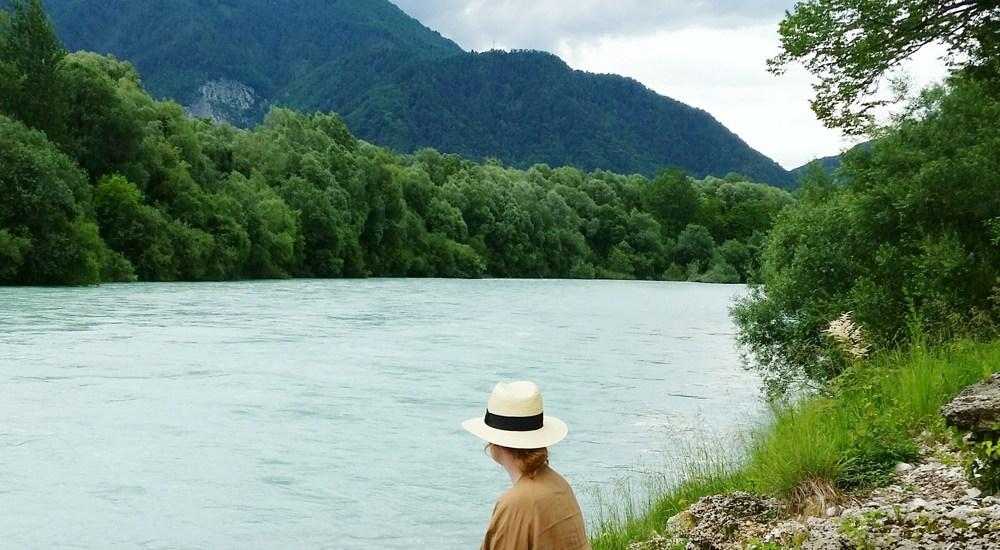 Slovenia Soca River - Map of Joy