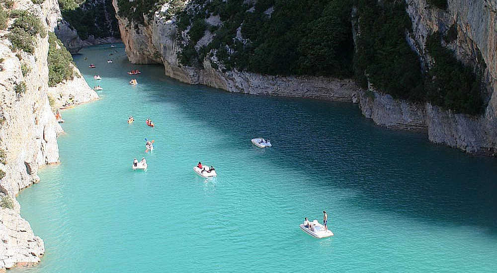 Gorge du Verdon, France, travel report - Map of Joy