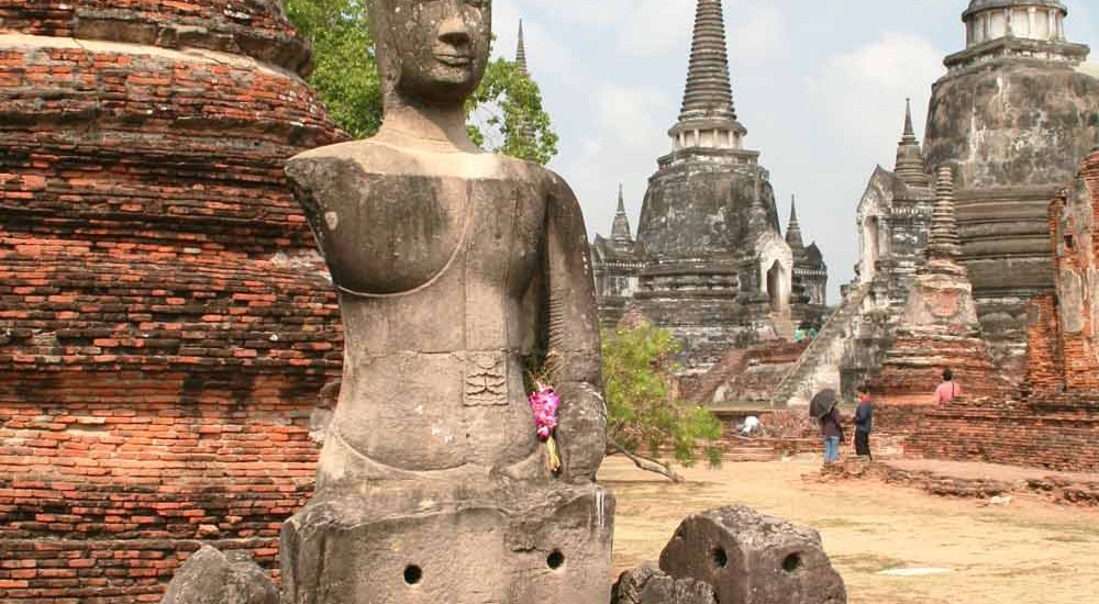 Ayuttaya, Thailand, Wat Phra Si Sanphet , travel report - Map of Joy