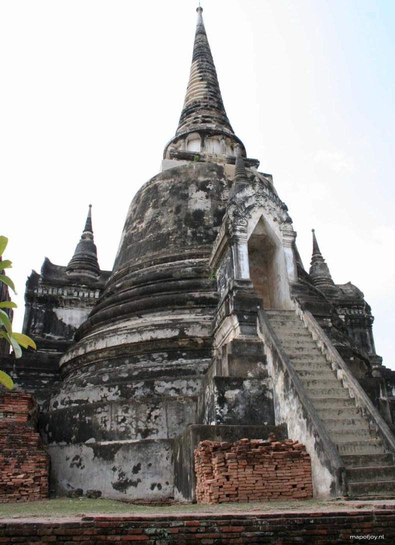 Ayuttaya, Thailand, Wat Phra Si Sanphet , travel report - Map of Joy