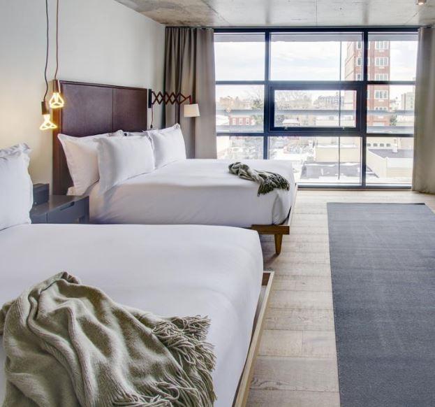 5x bijzonder slapen in New York, Boro Hotel, New York - Map of Joy