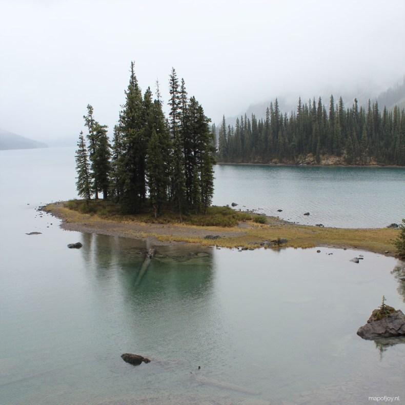 Maligne Lake, Alberta, Canada - Map of Joy