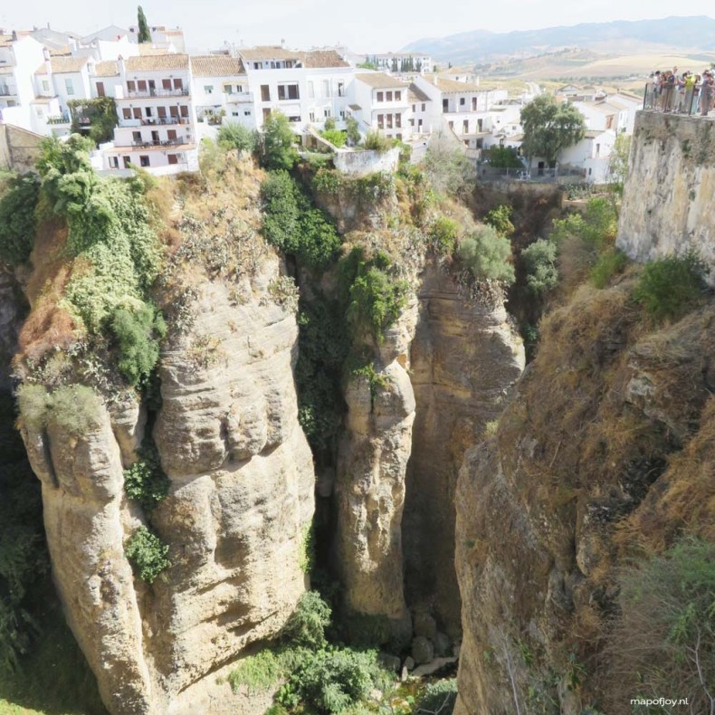 Ronda, Andalusia, Spain - Map of Joy