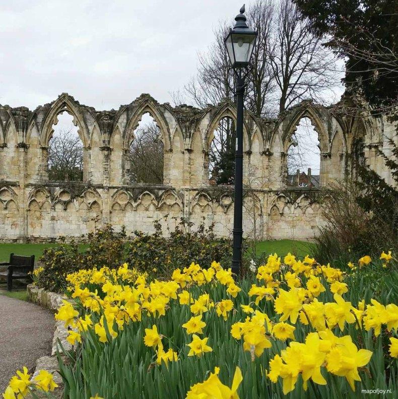 Dean's Park Garden, York - Map of Joy