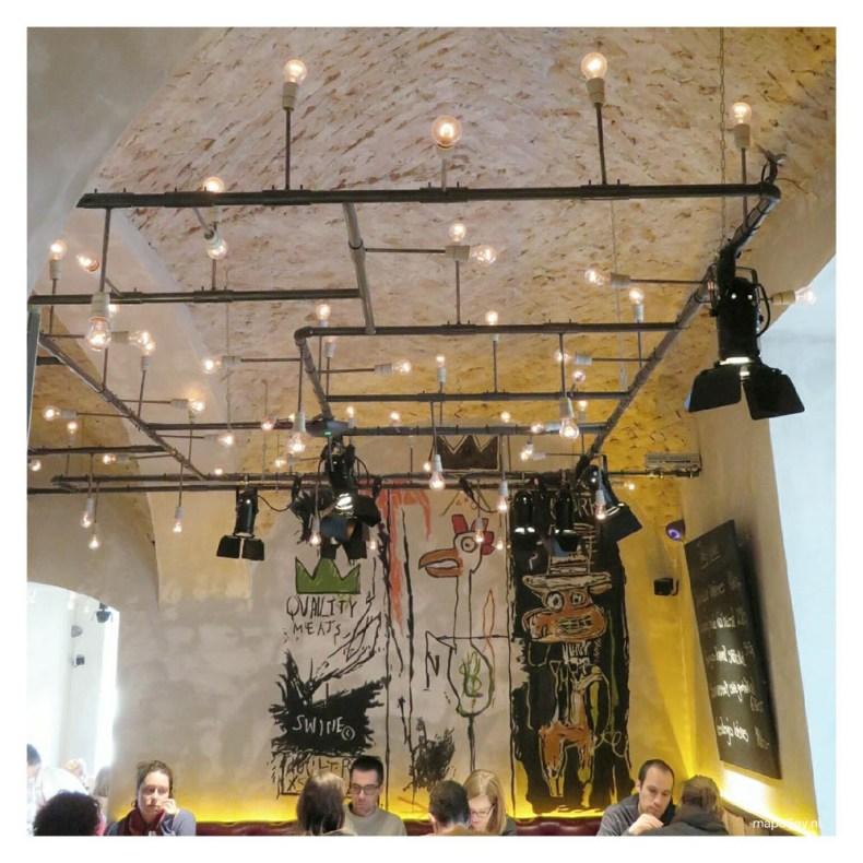 Baltazar restaurant in Budapest - Map of Joy
