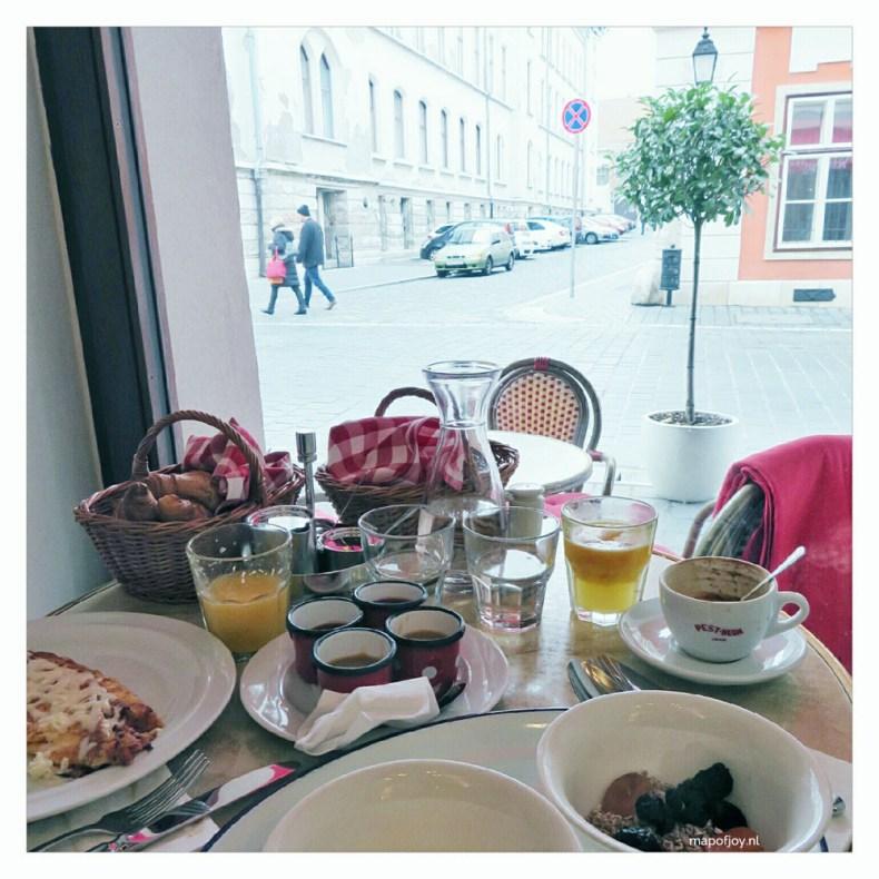Breakfast at Pest Buda in Budapest - Map of Joy