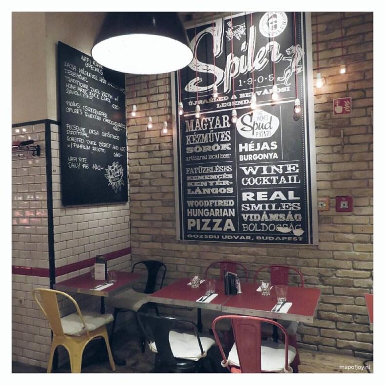 Spiler restaurant in Budapest - Map of Joy