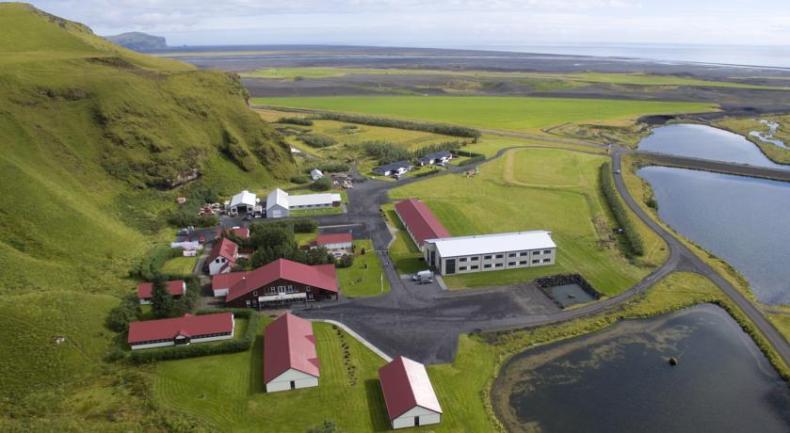 Hotel Katla Hofdabrekka, IJsland, Vik - Map of Joy