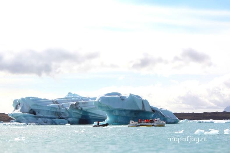 Jokulsarlon amfibievoertuig excursie, IJsland - Map of Joy