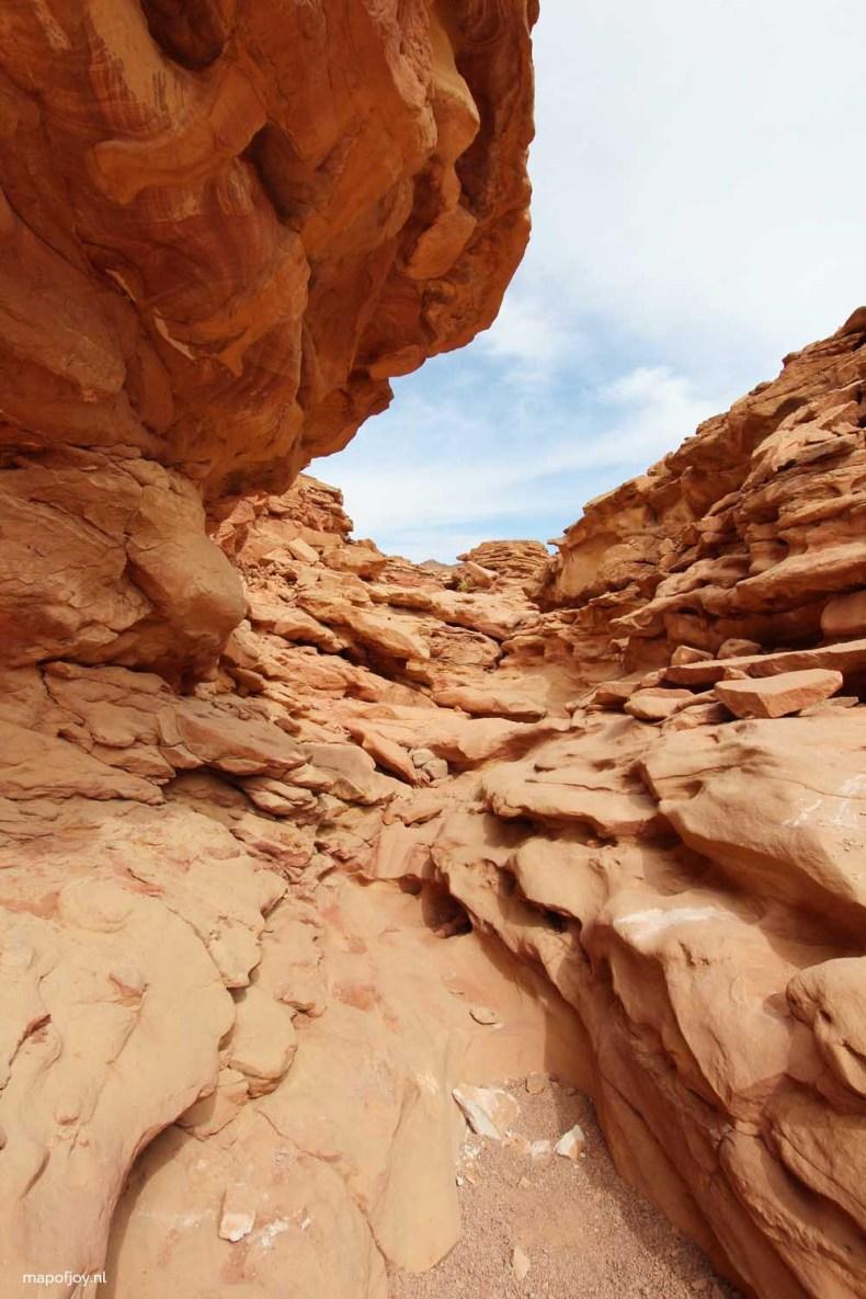 Coloured white canyon Egypt - Map of Joy