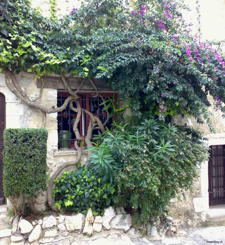 Eze, Zuid-Frankrijk - Map of Joy