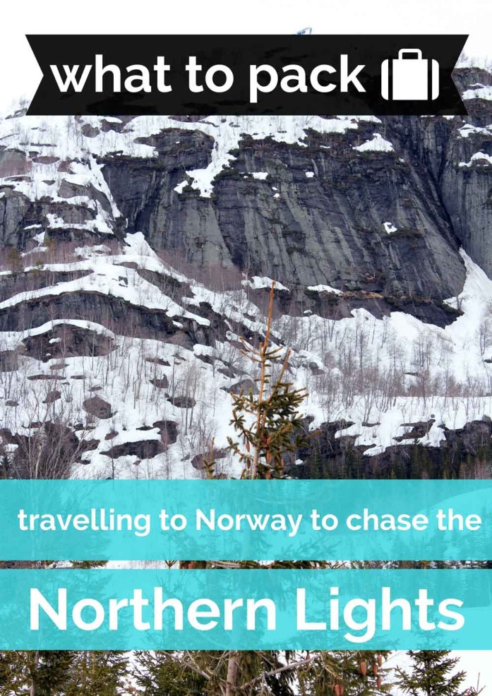 What to pack when you're travelling to Norway to chase see Northern Lights - Map of Joy