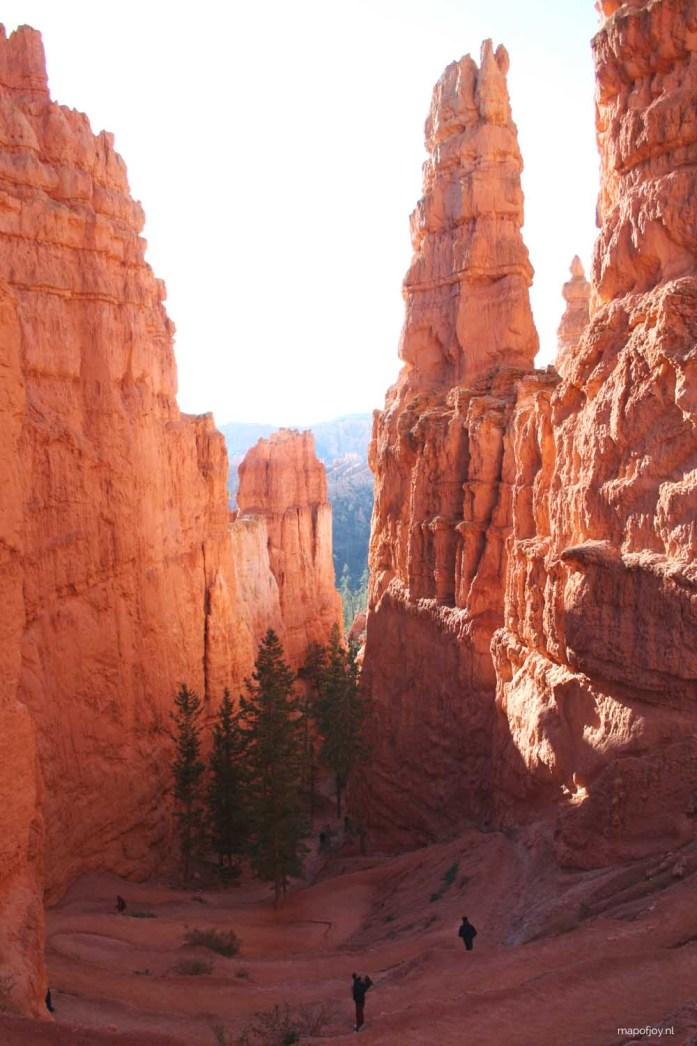 Bryce Canyon, West-USA - Map of Joy