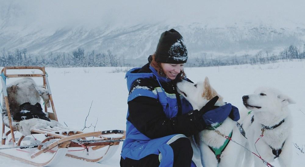 Huskysledetocht Noorwegen, Tromso - Map of Joy