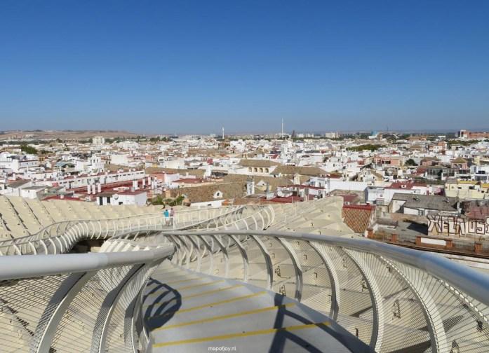 Metropol Parasol, Sevilla - Map of Joy