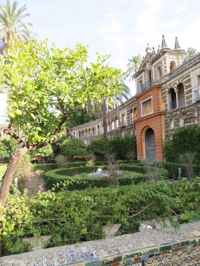 Real Alcazar, Sevilla - Map of Joy