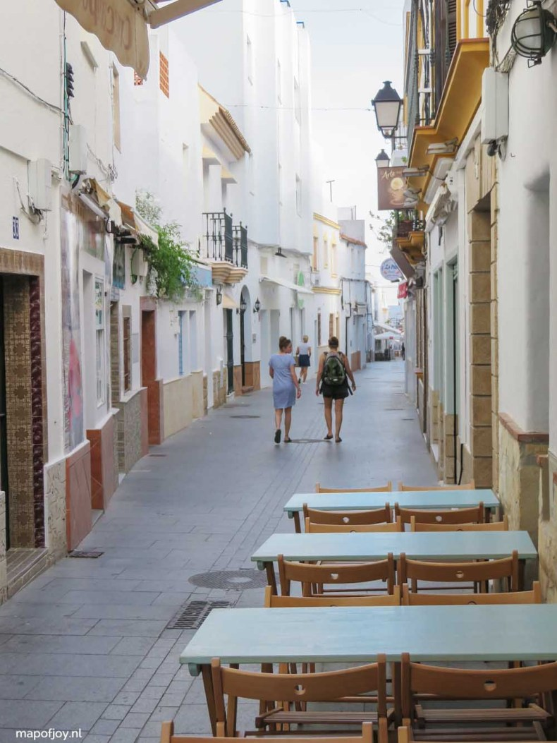 Conil de la Frontera, Andalusia, Spain - Map of Joy