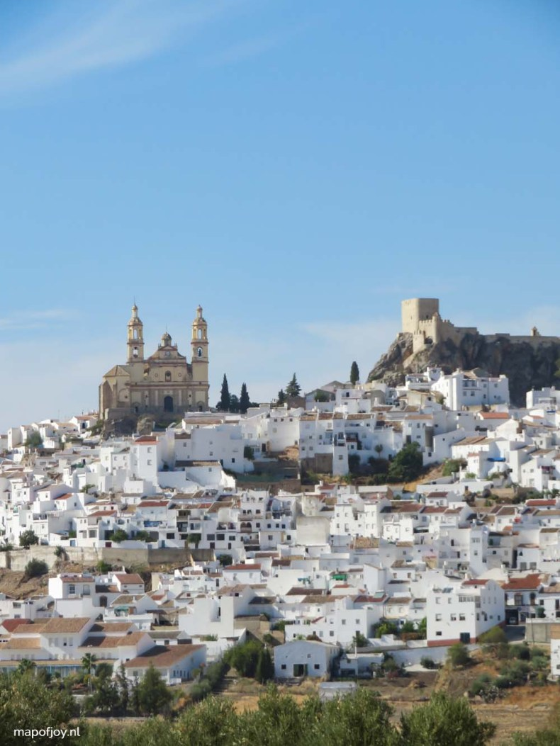 Olvera, Andalusia, Spain - Map of Joy