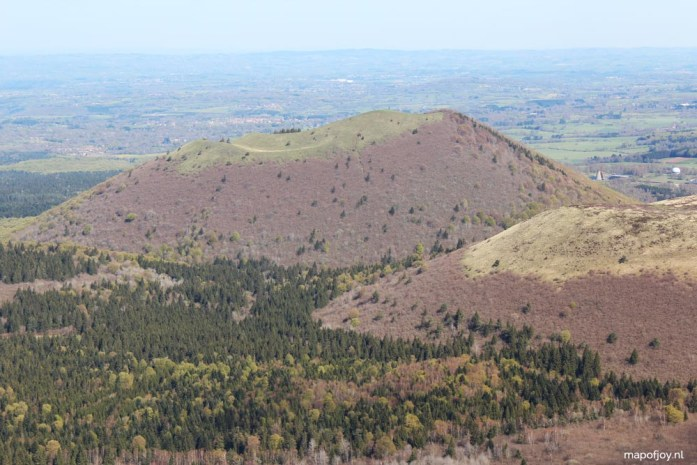 Puy de Dome, Auvergne, Frankrijk - Map of Joy