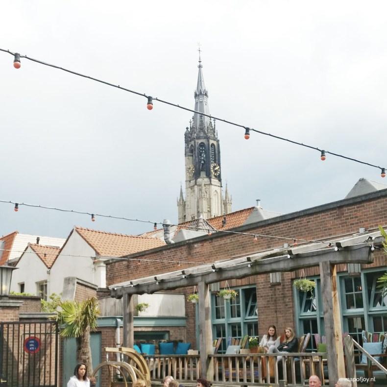 Food hotspot 't Postkantoor Delft - Map of Joy