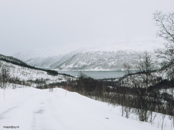 Kvaloya, a perfect road trip route in Norway - Map of Joy