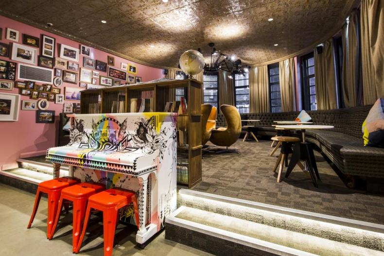 Generator Hostel London - Map of Joy
