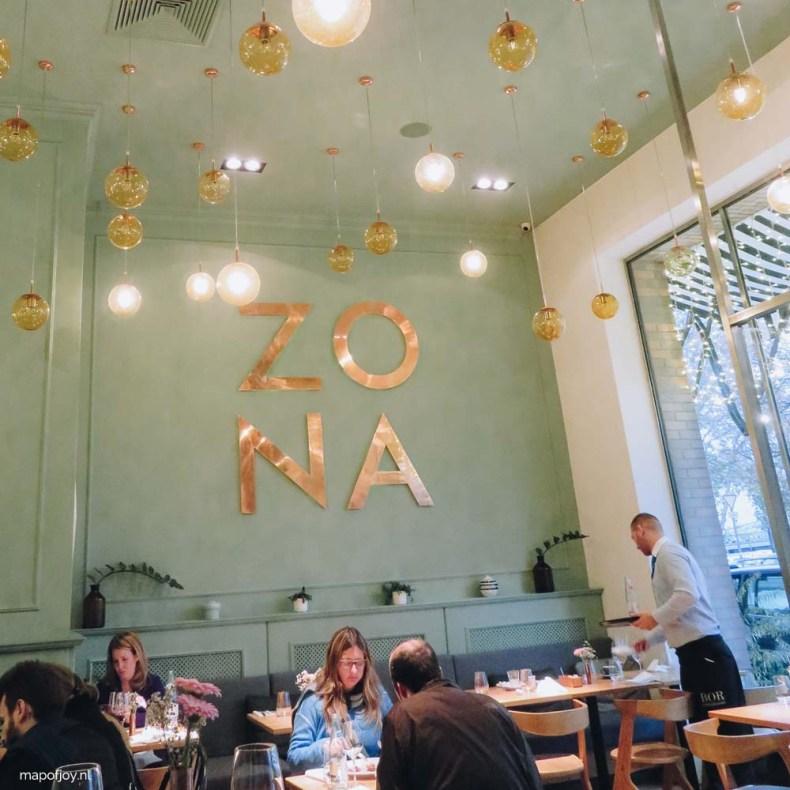 Zona, winebar, restaurant Budapest - Map of Joy