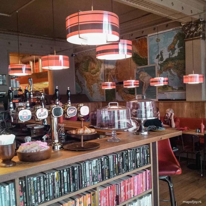 Laundromat Café, Reykjavik - Map of Joy