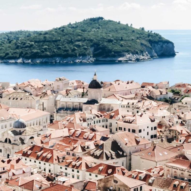 Dubrovnik en het eiland Lokrum - Map of Joy