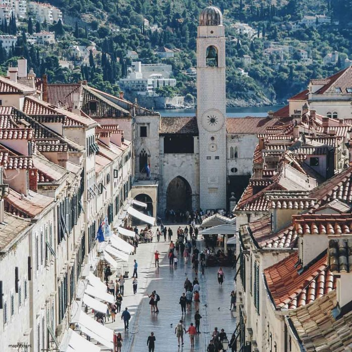 Stradun, Dubrovnik - Map of Joy