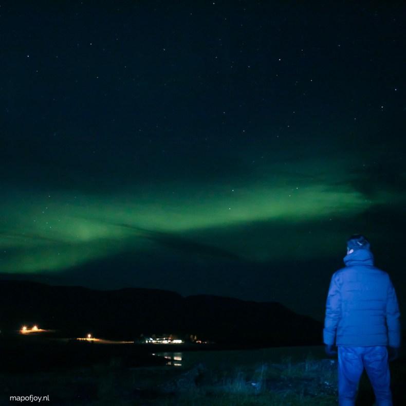 Noorderlicht in Akureyri, IJsland - Map of Joy