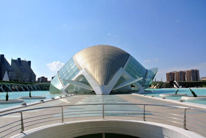 Ciudad de las Artes y las Ciencias Valencia - Map of Joy