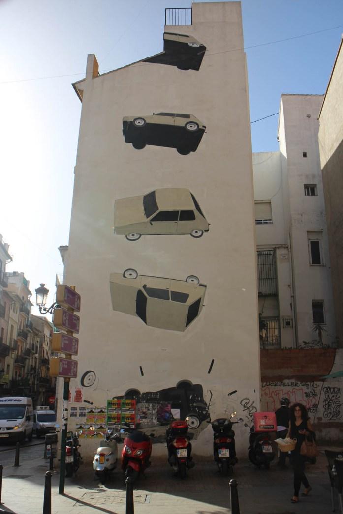 El Carmen street art Valencia - Map of Joy